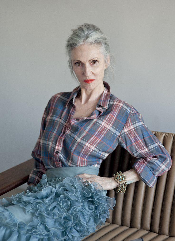 Le style Linda Rodin dans Grey Magazine